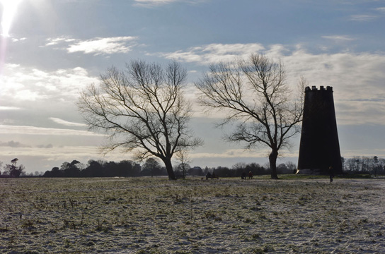 Black Mill on Beverley Westwood/Photo by Arnold Underwood/Jan 2010