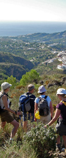 Walking in Andalucia, Spain/Photo © Joyce Davidson, Dales Trails Oct 2007