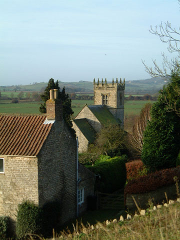 The view over Stonegrave/Photo by Arnold Underwood/Dec 2004